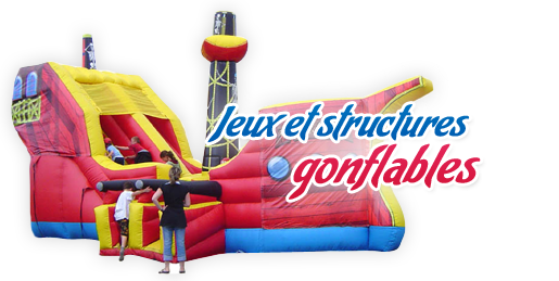 Air design vente et location de structures gonflables - Structure gonflable a vendre ...