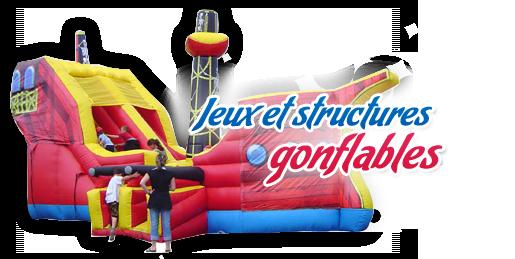 Jeux gonflables pas cher - Structure gonflable achat ...